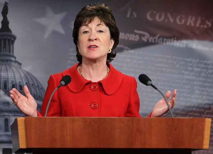 Democrats Set Sights On Susan Collins' Senate Seat