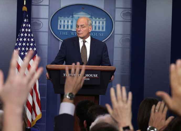 "White House Chief Of Staff John Kelly Puts Rumors Of Dismissal To Rest: ""I'm Not Quitting Today"""