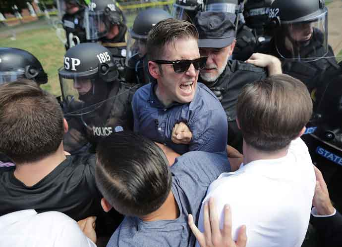 White Nationalist Richard Spencer Speaks At University Of Florida, Protestors Drown Out Speech