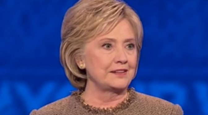 Hillary Clinton Follows Colleagues in Donating Harvey Weinstein Donations To Charities
