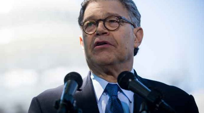Donald Trump Draws Ire As He Comments On Al Franken Sexual Harassment Allegation