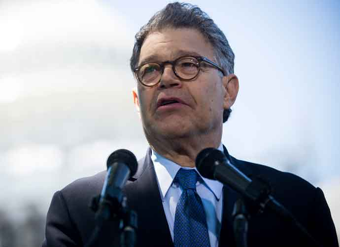 Al Franken Resigns, Calls Out Donald Trump & Roy Moore [VIDEO]