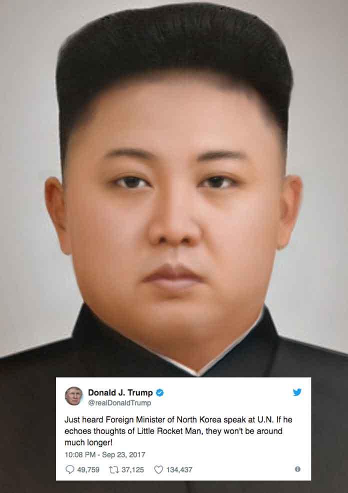 Trump calls Kim Jong-Un