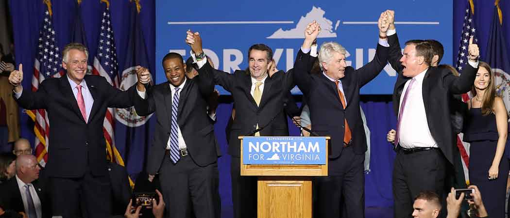 Democrats Ralph Northam & Phil Murphy Win Governor's Seats In Virginia & New Jersey