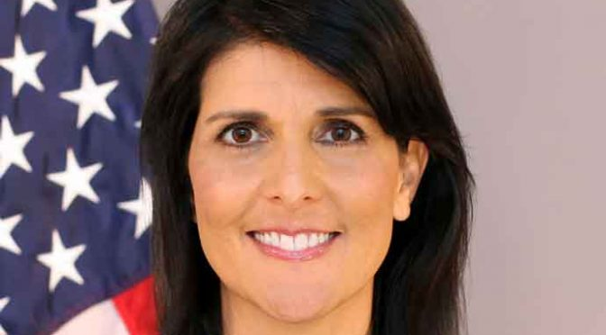 Nikki Haley Addresses United Nations, Gives Second Warning About Votes Against US Embassy Move To Jerusalem