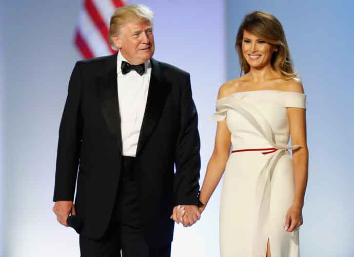 Melania Trump Lives On A Separate Floor In White House From Husband Donald Trump