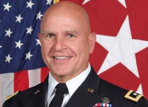 Former National Security Advisor H.R. McMaster