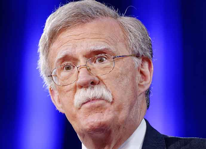 "Trump Says He ""Tempers"" John Bolton's Hawkish Views On International Affairs"