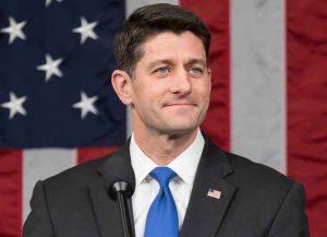 Former House Speaker Paul Ryan (R-Wisconsin)