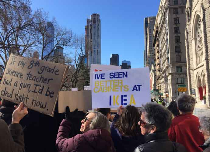 New Yorkers Came Out For The #MarchForOurLives