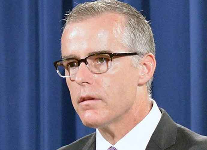 Ex-Acting FBI Director Andrew McCabe Wrote Secret Memo About Trump's Firing Of James Comey
