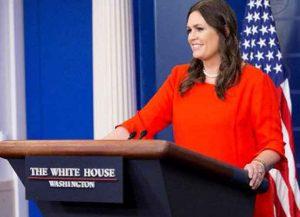 Sarah Huckabee Sanders (Photo: Getty)