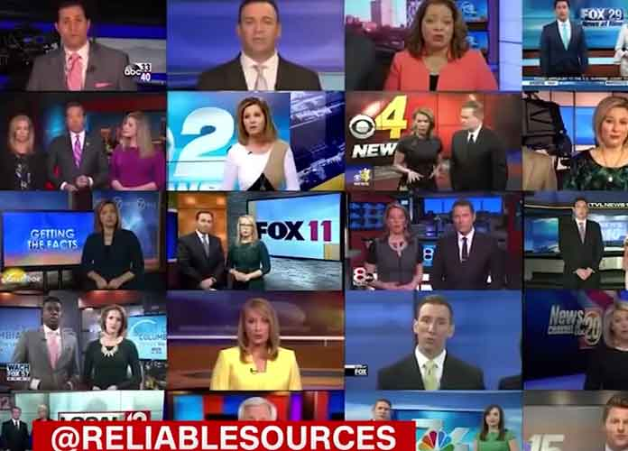 Sinclair Broadcast Group Makes Scores Of Local News Anchors Recite Same Message On Biased, Fake News