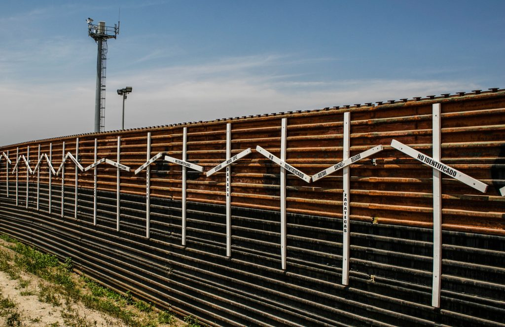 U.S. Troops To Spend A Month Painting Mexico Border Wall