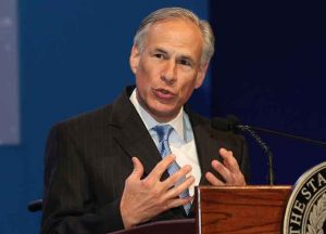 Texas Gov. Greg Abbott (R) (Image: Wikimedia)