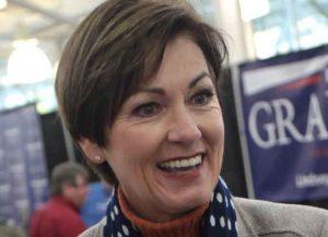 Iowa Gov. Kim Reynolds (R) (Image: Getty)