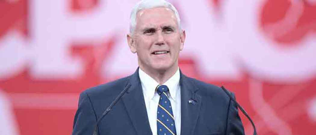 Vice President Mike Pence Sees 400 Men In Cages At Migrant Detention Center: 'The Stench Was Horrendous'
