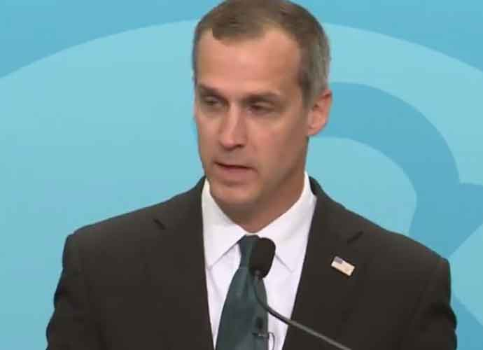 Top Speakers Bureau Drops Corey Lewandowski After Mocking Migrant Girl With Down Syndrome