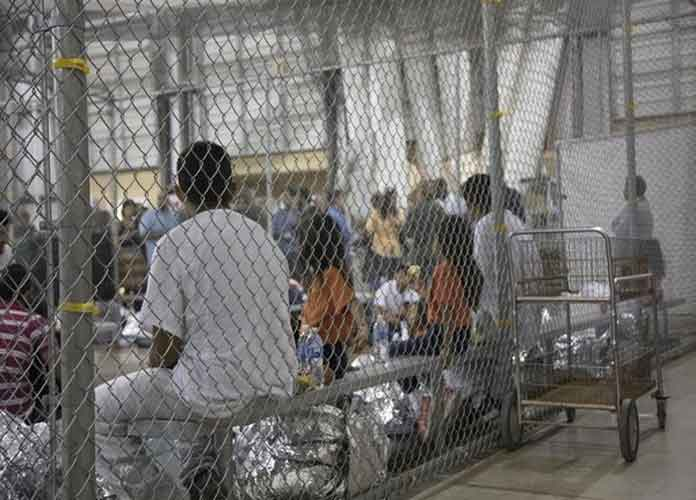 Photos Of Texas Immigrant Processing Center Shows People Held In Cages