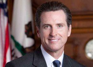 Gov. Gavin Newsom (D-California) (Image: Wikimedia)