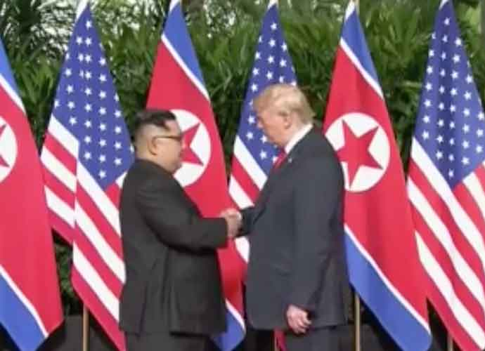 "Donald Trump Gives North Korean Leader Kim Jong-un A ""Rocket Man"" CD"