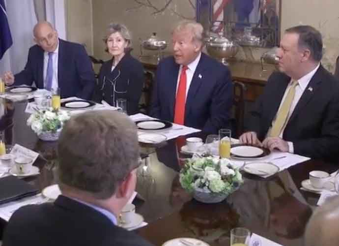 Chief Of Staff John Kelly & Kay Bailey Hutchison Visibly Displeased With Donald Trump During NATO Talks [VIDEO]