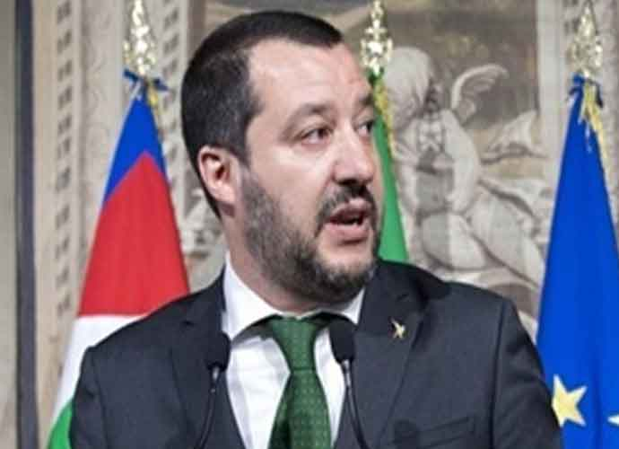 Italian Interior Minister Matteo Salvini Proposal To Expel Roma Stirs Memories Of Country's Fascist History
