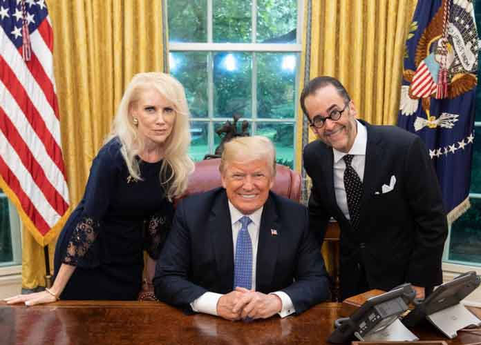 Donald Trump Meets With QAnon-Follower Right-Wing 'Conspiracy Analyst' Michael Lebron At White House
