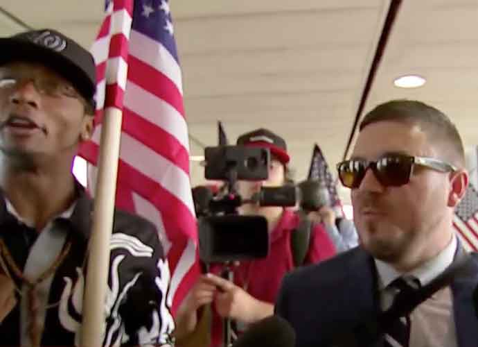 D.C. White Nationalists Rally Vastly Outnumbered By Counterprotesters, Stopped Shortly After It Began