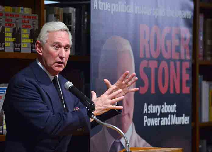 Trump Declines To Comment About Potential Presidential Pardon Of Roger Stone