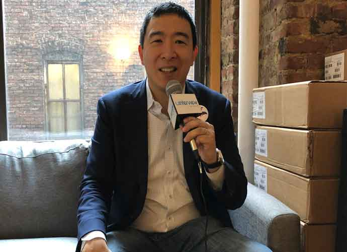 VIDEO EXCLUSIVE: 2020 Democratic Presidential Candidate Andrew Yang On Gun Control, Fining Gun Manufacturers