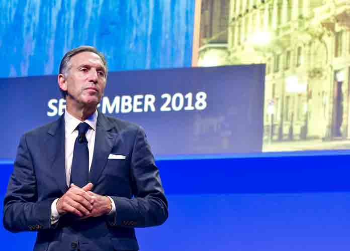 Ex-Starbucks CEO Howard Schultz 'Seriously Thinking' About Independent 2020 Run