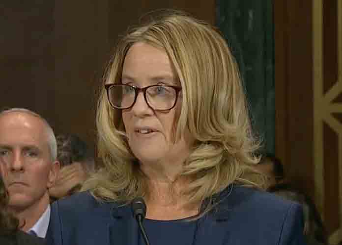 "Christine Blasey Ford Gives Testimony On Brett Kavanaugh Before Senate Judiciary: ""I Thought He Was Going To Accidentally Kill Me"" [VIDEO]"