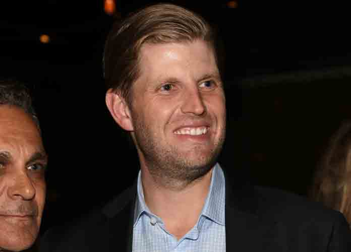 Eric Trump Encourages Trump Rally Supporters To Chant 'Lock Him Up' About Joe Biden