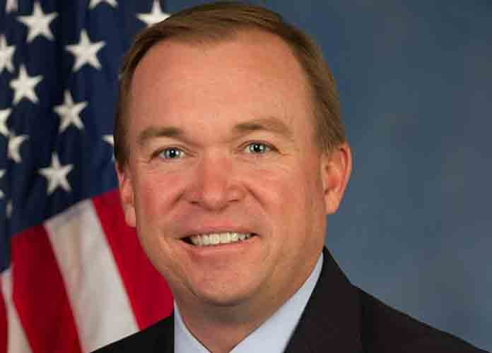 Donald Trump Names Budget Director Mick Mulvaney Acting Chief Of Staff