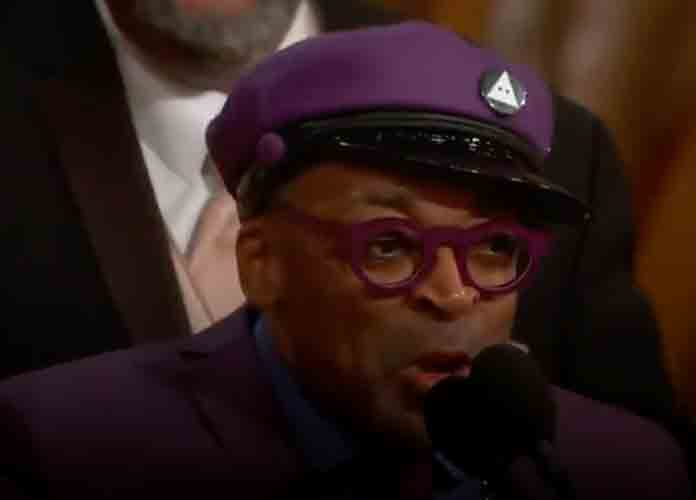"Trump Blasts Spike Lee On Twitter For ""Racist Hit"" On Him At Oscars"