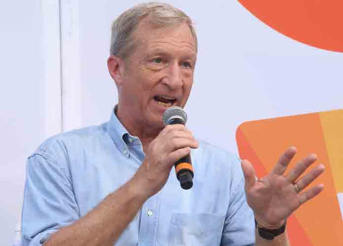 VIDEO EXCLUSIVE: Tom Steyer Supports Biden's New 'Progressive' Climate Plan As 'Top Priority'