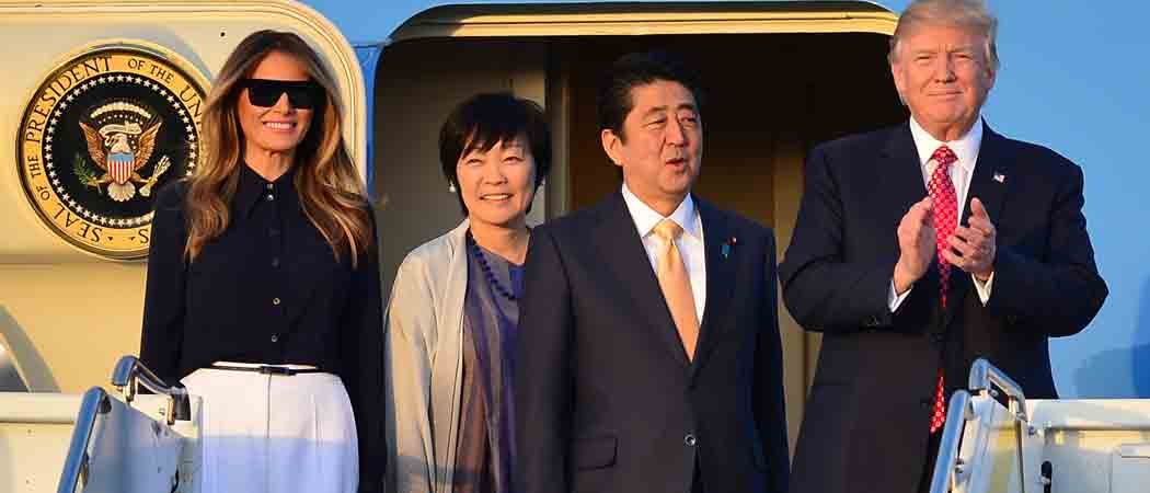 Trump Claims Japanese Prime Minister Shinzo Abe Nominated Him For Nobel Peace Prize; Abe Won't Confirm Claim