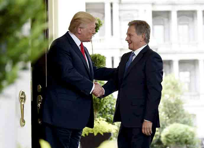 "Finnish President Sauli Niinistö Says He Never Discussed ""Raking"" Forests With Trump, Finns Post 'Raking' Memes"