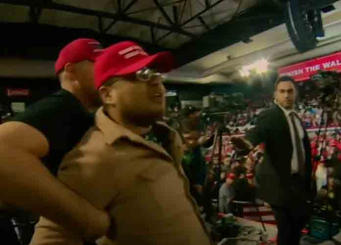 BBC Cameraman Ron Skeans Attacked At Trump Rally In El Paso, Aggressor Escorted Out Of Venue [VIDEO]