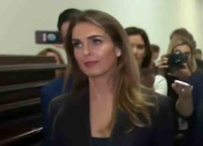 Hope Hicks Testifies That Trump Campaign Investigated Possible Existence Of Trump-Russian Prostitute 'Pee Tape' In 2016