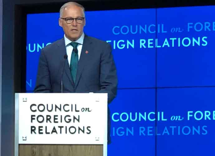 Gov. Jay Inslee Outlines Ambitious Climate Change Plan At Council On Foreign Relations