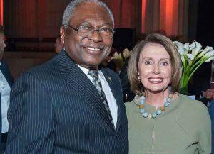 Rep. Jim Clyburn with House Speaker Nancy Pelosi (Photo: Getty)