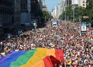 LGBT Pride Parade In Sao Paulo (Photo: Wikimedia)