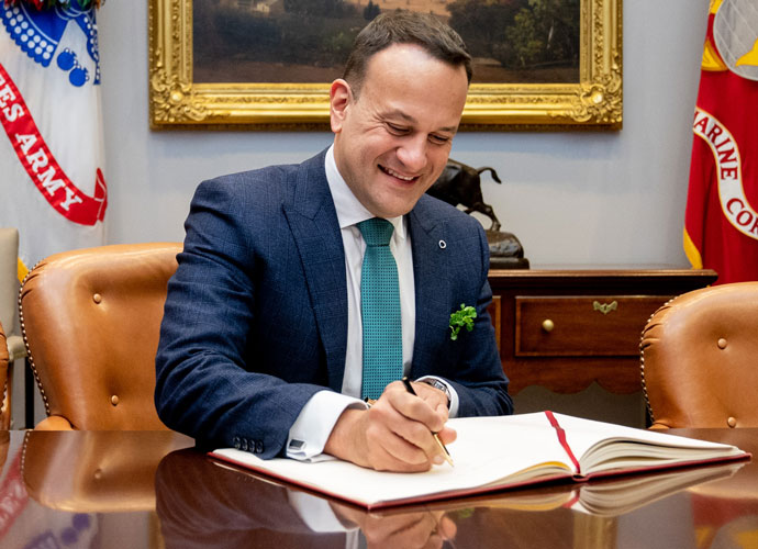 Trump Wishes Irish Prime Minister Leo Varadkar Well On His 'Wall' On Ireland's Non-Existent Border