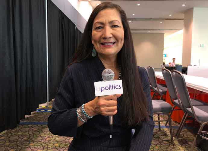 VIDEO EXCLUSIVE: Rep. Deb Haaland On Native American Rights, The Economy, Climate Change & The Military