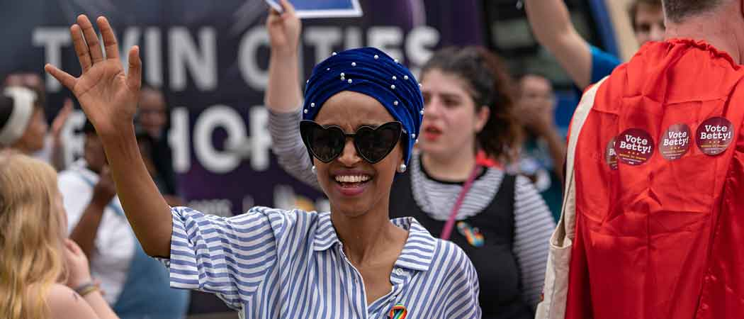 Rep. Ilhan Omar Greeted By Cheering Supporters At Minneapolis Airport