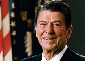 President Reagan in 1981