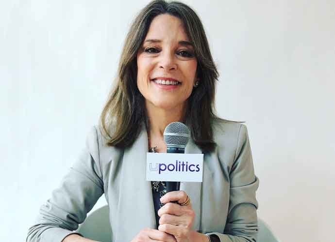 VIDEO EXCLUSIVE: 2020 Democratic Presidential Candidate Marianne Williamson On Her Foreign Policy Goals, Department Of Peace