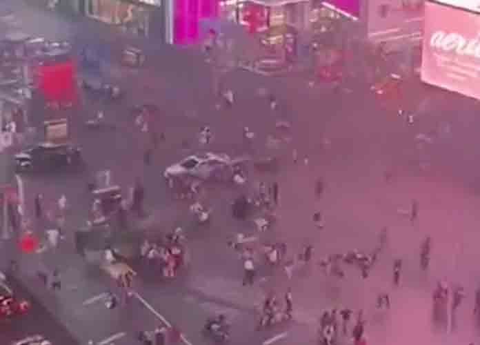 Motorcycle Backfiring Mistaken For Gunshots In Times Square Leading To Panic [VIDEO]